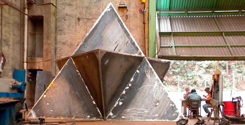 Metal Sculpture   Escultura em Metal   Chico Niedzielski