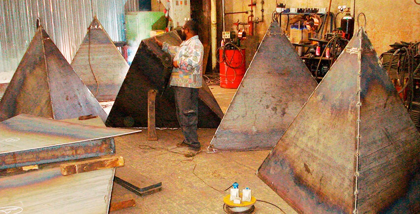 Metal Sculpture | Escultura em Metal | Chico Niedzielski