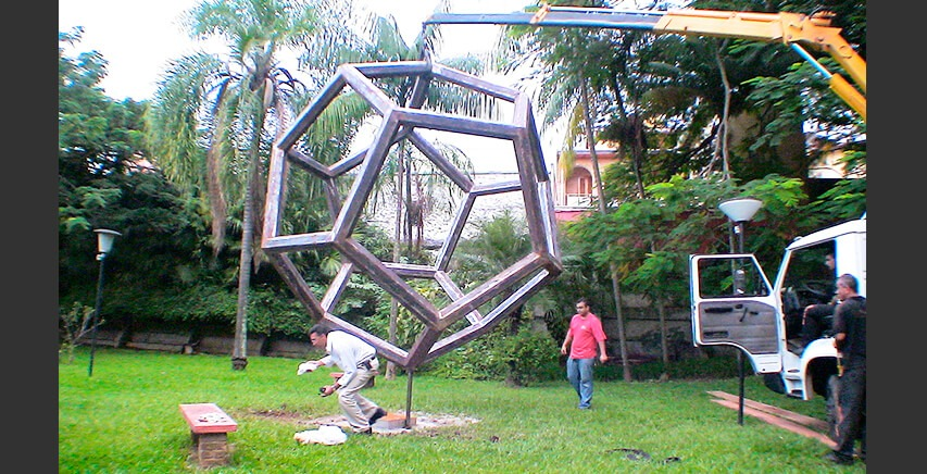 Mobile Sculpture | Airplanes-Cube