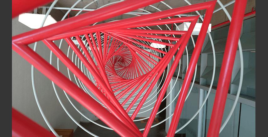 Escultura Mobile | Dodecaedro de Arestas